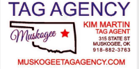 muskogee tag agency new