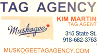 muskogee tag agency